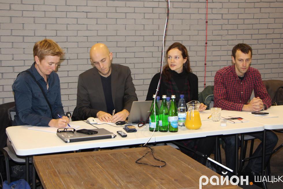 Партнери проекту з Німеччини та України