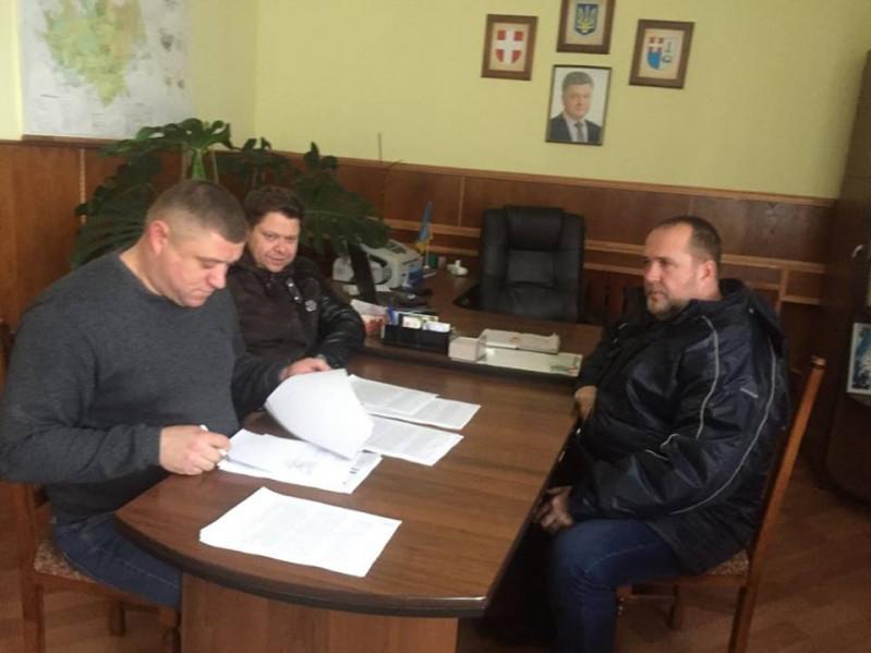 Процес підписання договорів на виконання робіт