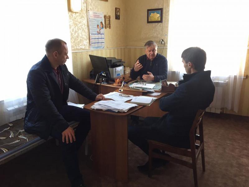 Зустріч із завідувачем Пульмівської амбулаторії Володимиром Дубаничем