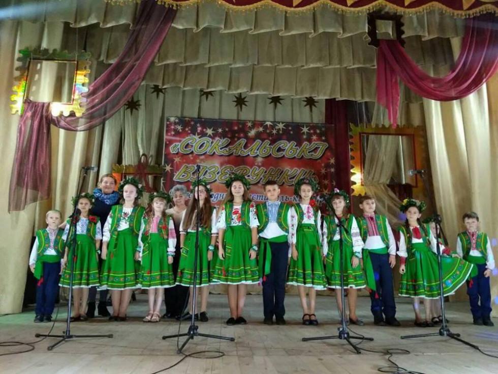 Дитячий ансамбль «Барвінок» санаторію «Лісова пісня»
