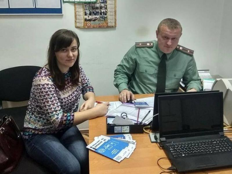 Прийом громадян в мобільному консультативному пункті Шацького районного сектору з питань пробації