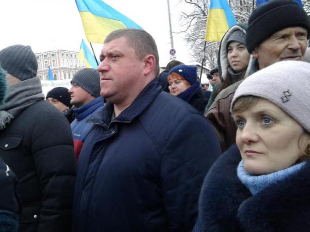 Делегацію шачан очолив голова Шацької РДА Василь Голядинець