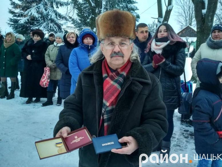 Багаторічномупрацівнику сфери культури Шацького району присвоїливисоке почесне звання.