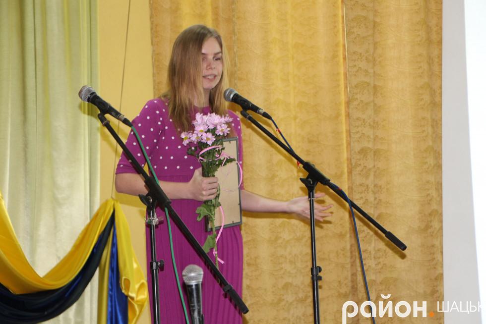 Радниця голови районної ради Ірина Хвисючик