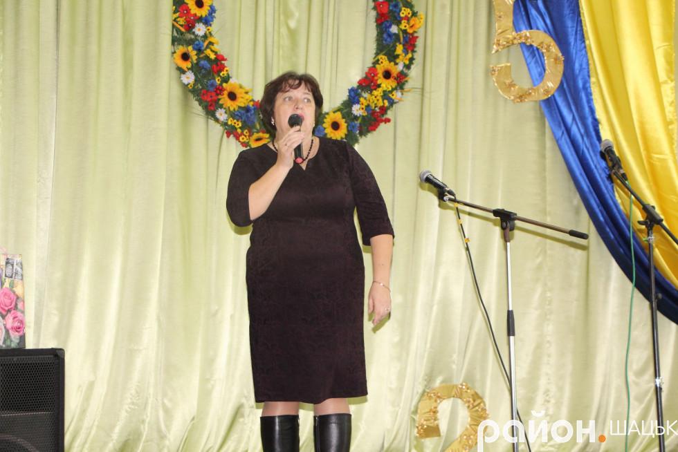 Начальниця відділу освіти Людмила Єрофєєва