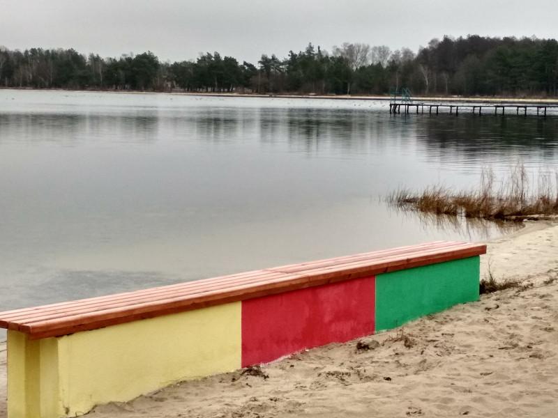 Проект на озері Пісочне