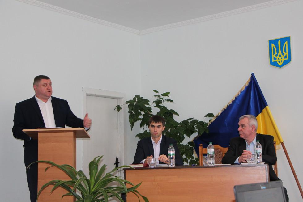 Василь Голядинець на Раді регіонального розвитку розповідає про будівництво пункту пропуску в Адамчуках