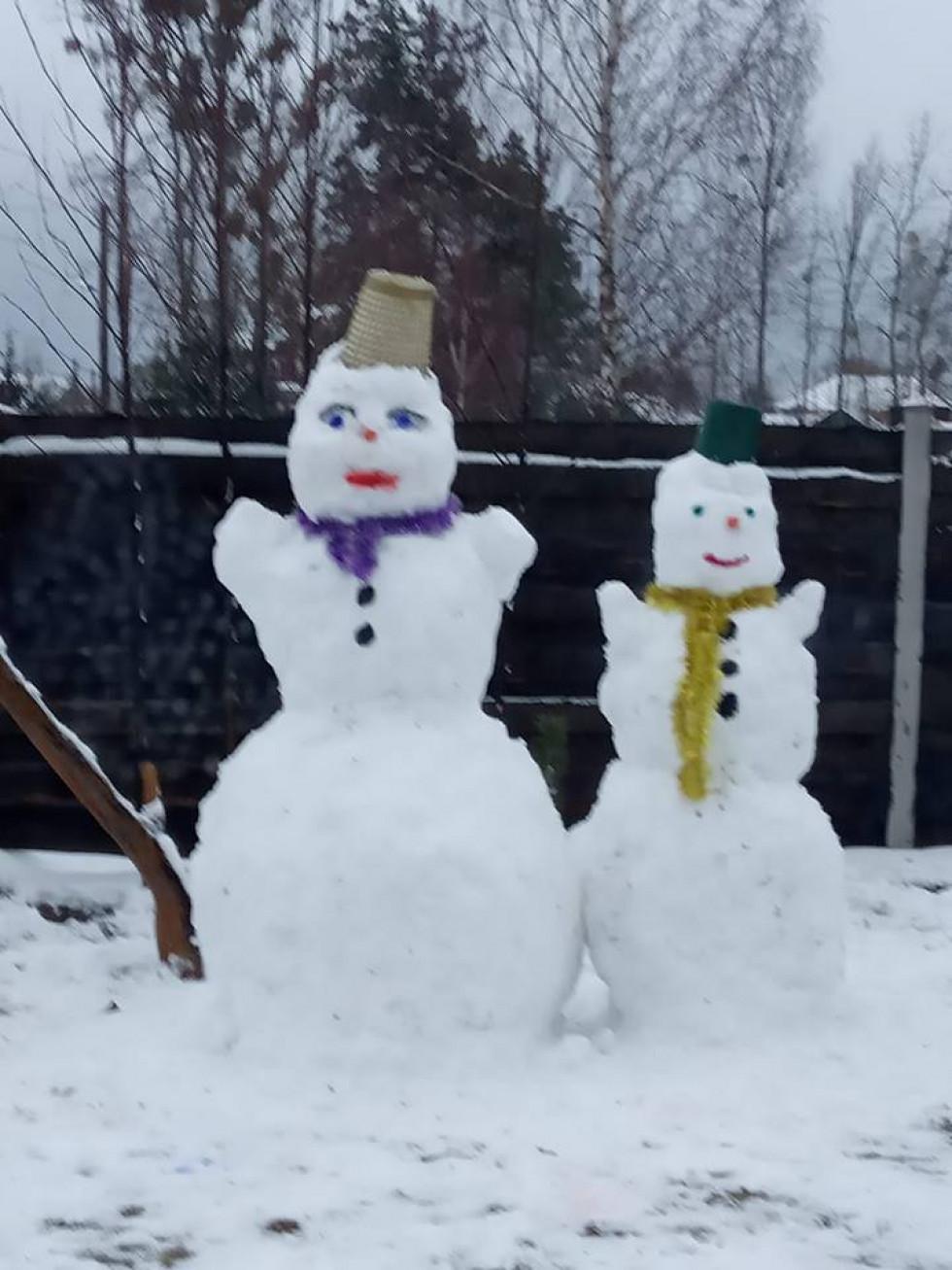 Снігова пара шачанки Анни Самолюк