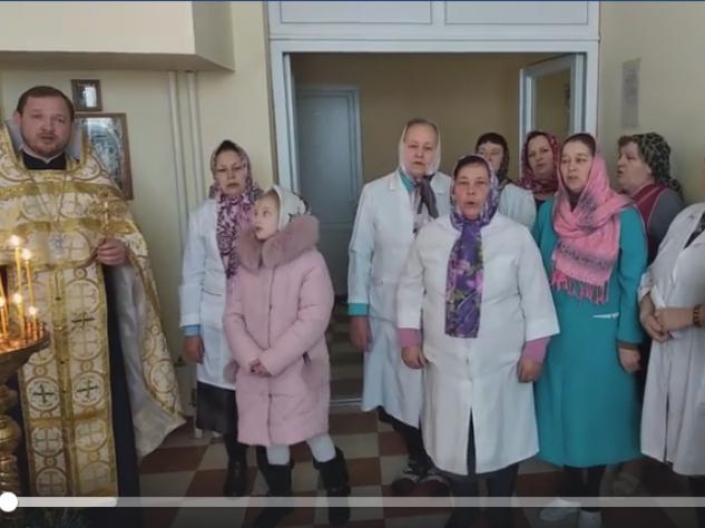 Колядки в Шацькій районній лікарні