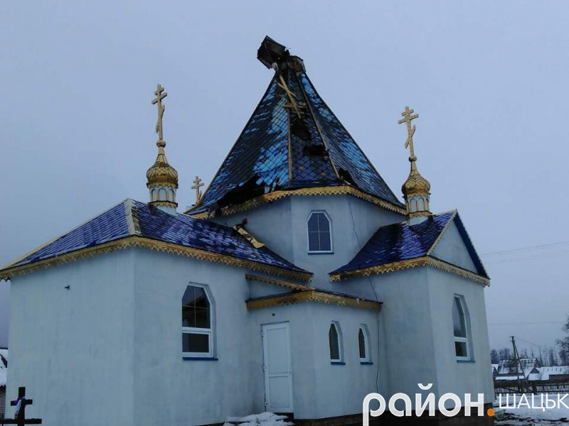 Пожежа у церкві на Волині: просять допомогти відбудувати храм