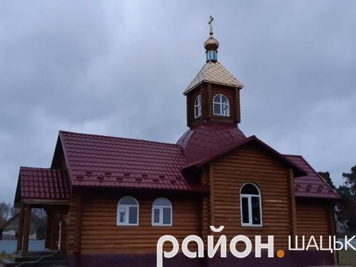 Храм святого великомученика Димитрія Солунського села Положево