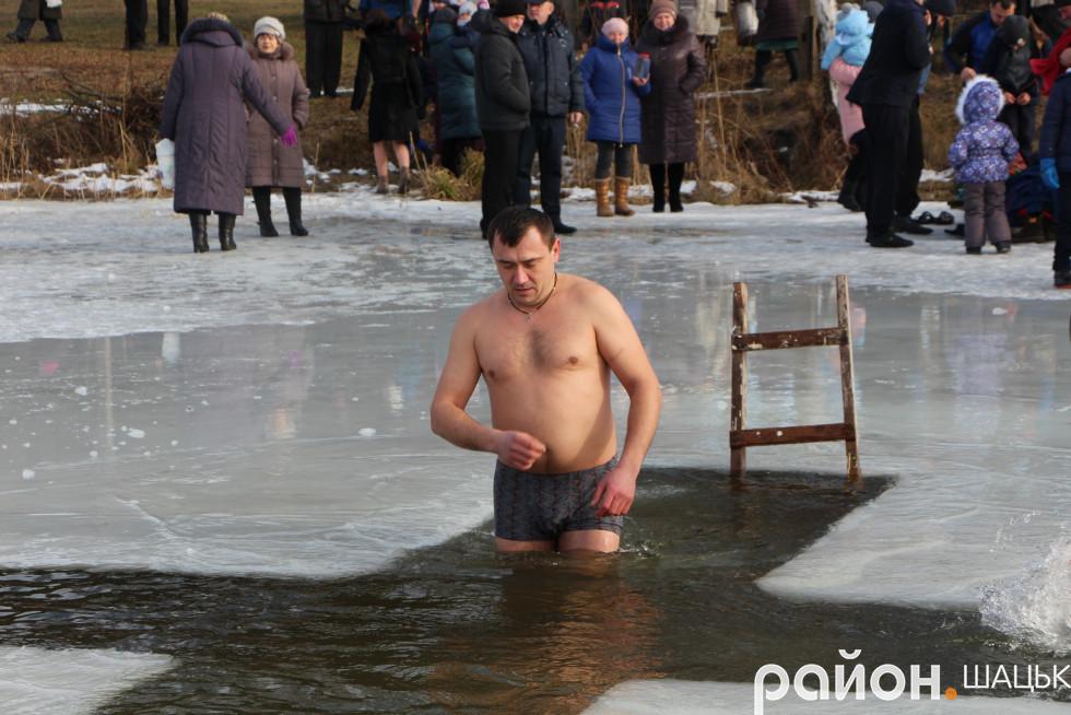 Учасник АТО, працівник Шацької ОТГ Ярослав Крат