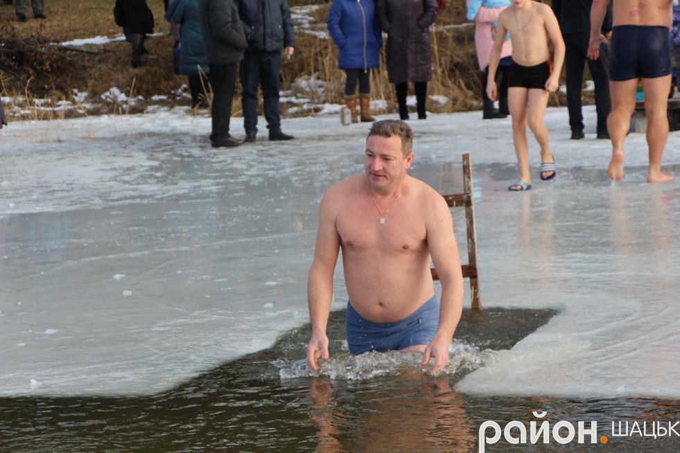 Підприємець, депутат Шацької ОТГ Олександр Пиленко