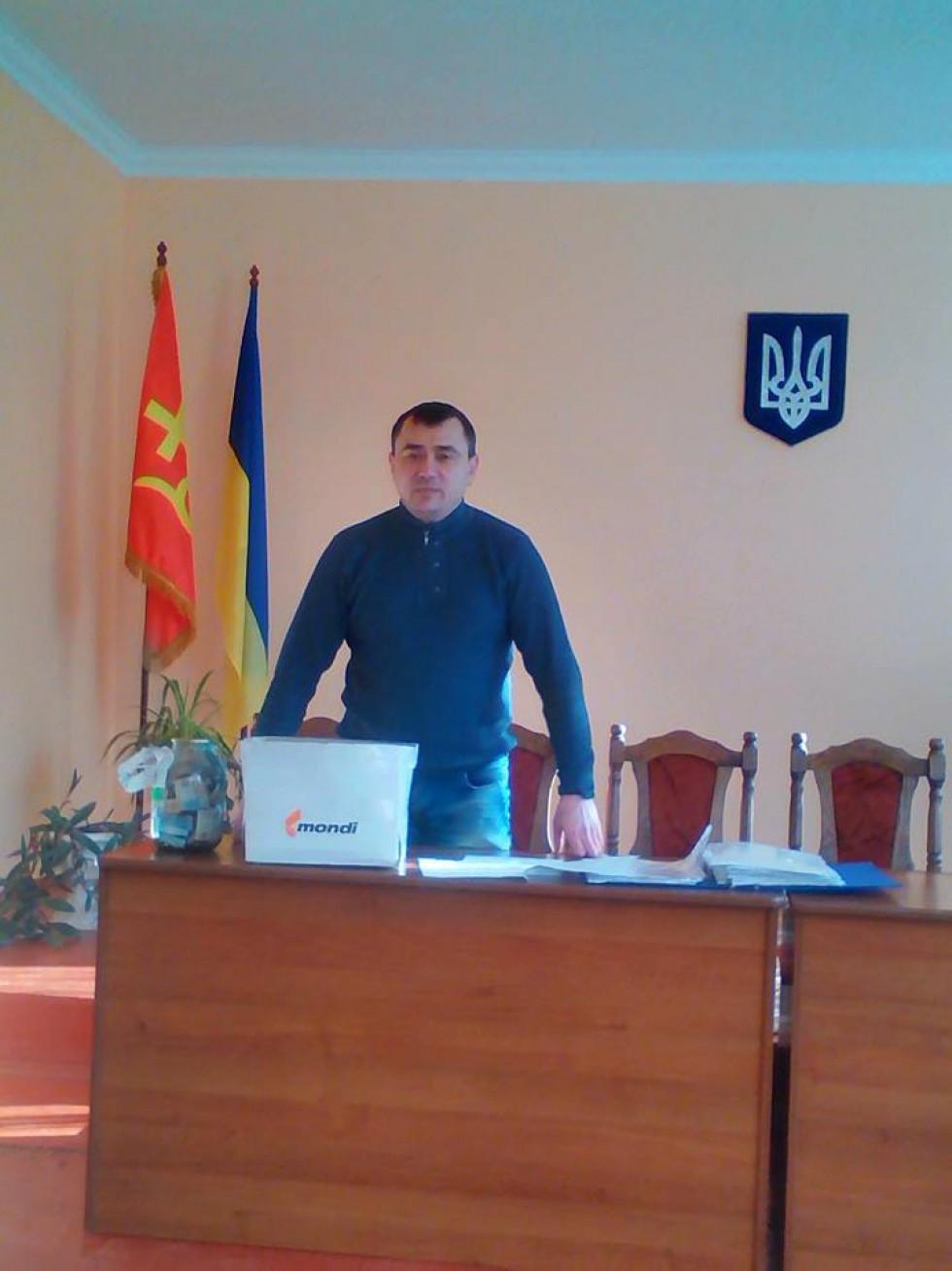 Голова ГО Ветерани АТО Шацького району Ярослав Крат