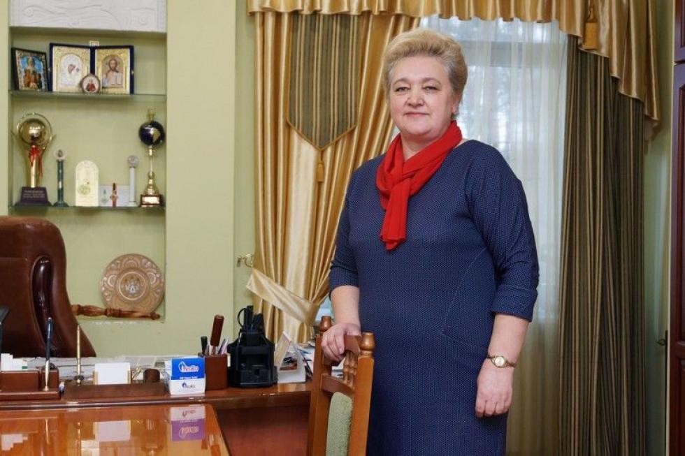 Директорка оздоровниці Руслана Дибель прийшла у колектив 27 років тому і завоювала повагу і довір'я колег.