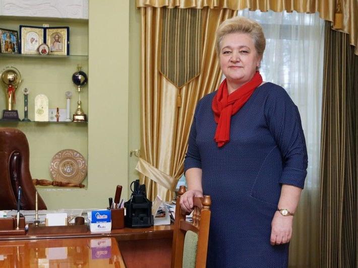 Директорка «Лісової пісні» Руслана Дибель