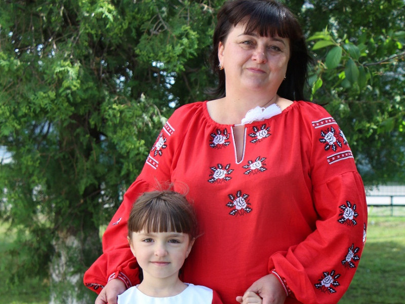 Дві Тетяни: хрещена мама Тетяна Терета та її похресниця Тетяна Сивоха