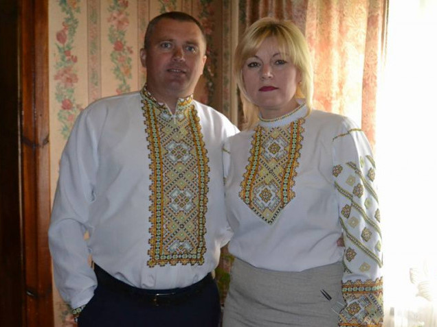 Олена Герасимук з чоловіком Анатолієм