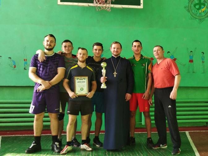 Переможці змагань з волейболу