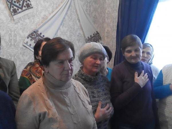 Людипохилого віку з Шацька вшанували пам'ять героїв Крут.