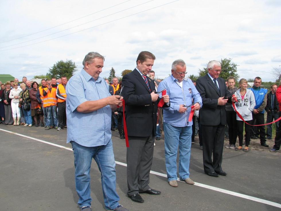 Відкриття в 2012 році об'їзної дороги до Світязя