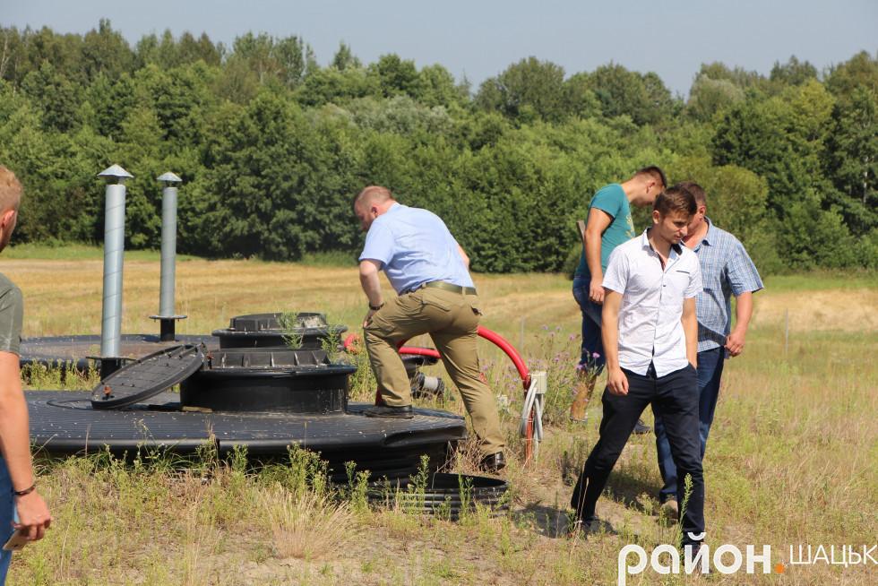 Системою очищення води з каналізування цікавились гості з Вінниці