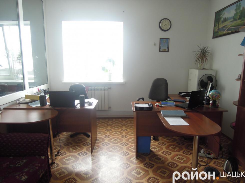 Комфортні кабінети шацьких поліцейських