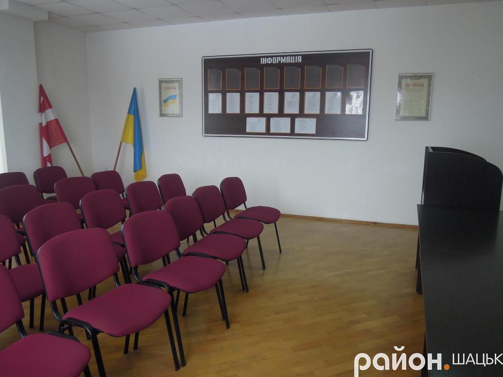 Зала для засідань та проведення нарад, заходів