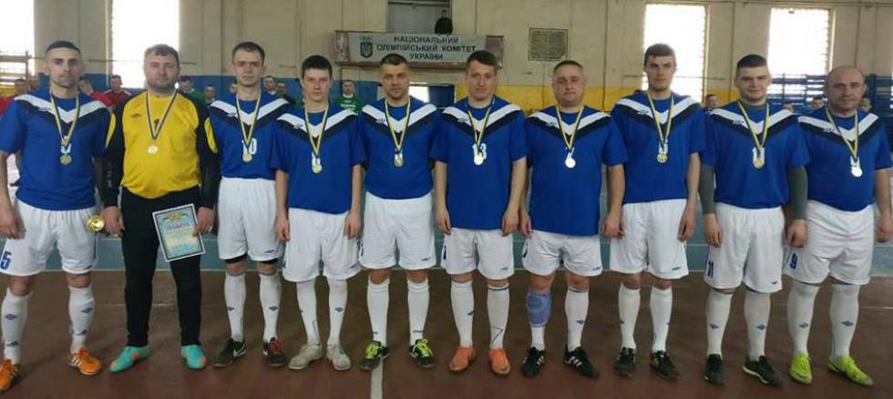 Футбольна команда - у переможцях