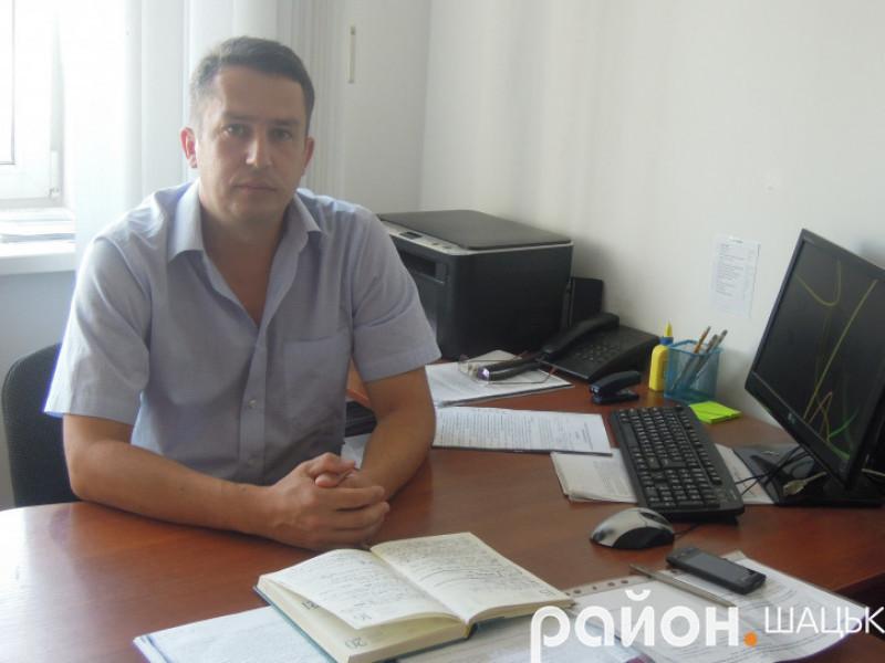 Ігор Гулик, старший інспектор сектору моніторингу Шацького відділення поліції