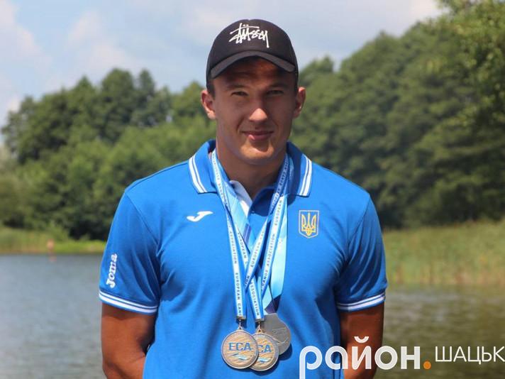 Дворазовий чемпіон Європи і срібний призер світу з веслування Дмитро Озимок