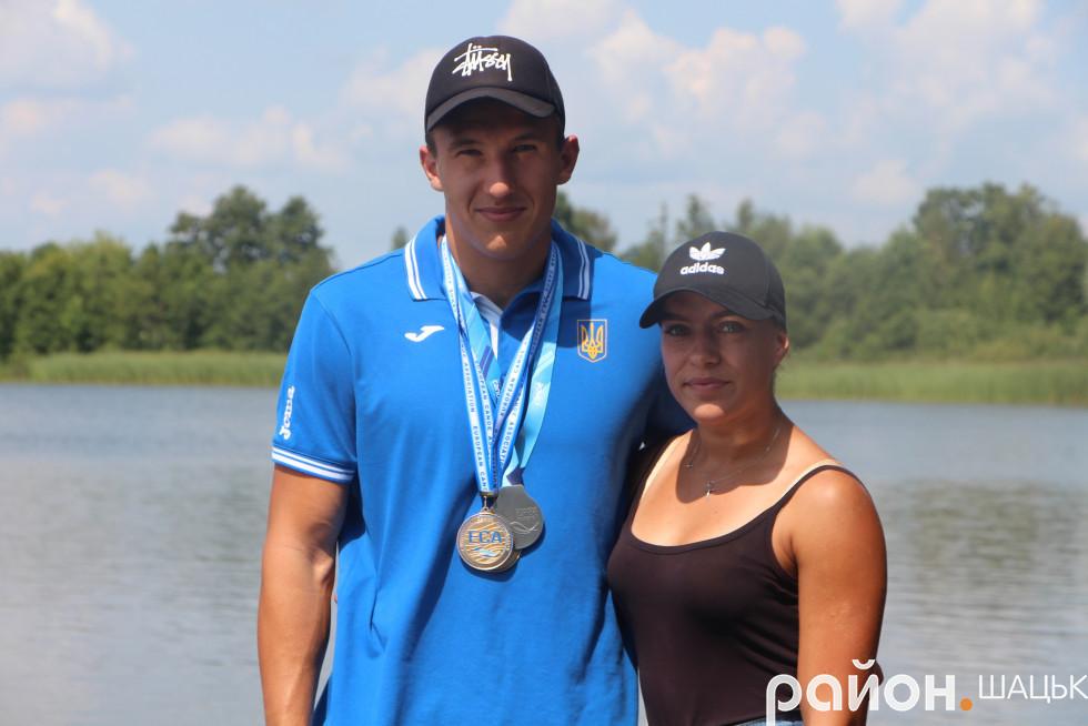 З дворазовим чемпіоном Європи і призером чемпіонату світу Дмитром Озимком