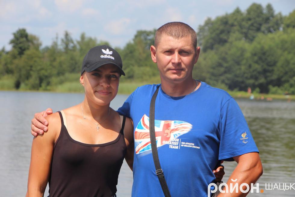 З першим тренером Миколою Романовичем