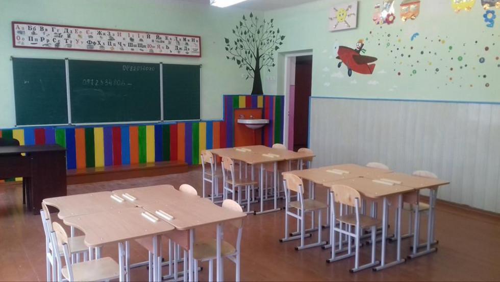 Клас у школі села Пульмо