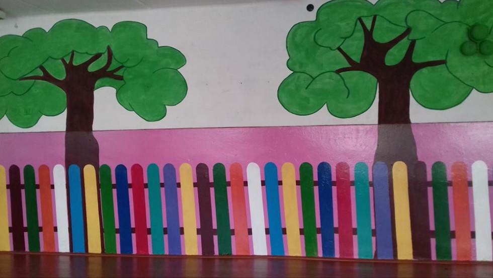 Коридор школи села Пульмо