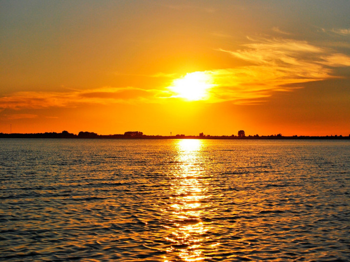 Закат - Озеро Світязь
