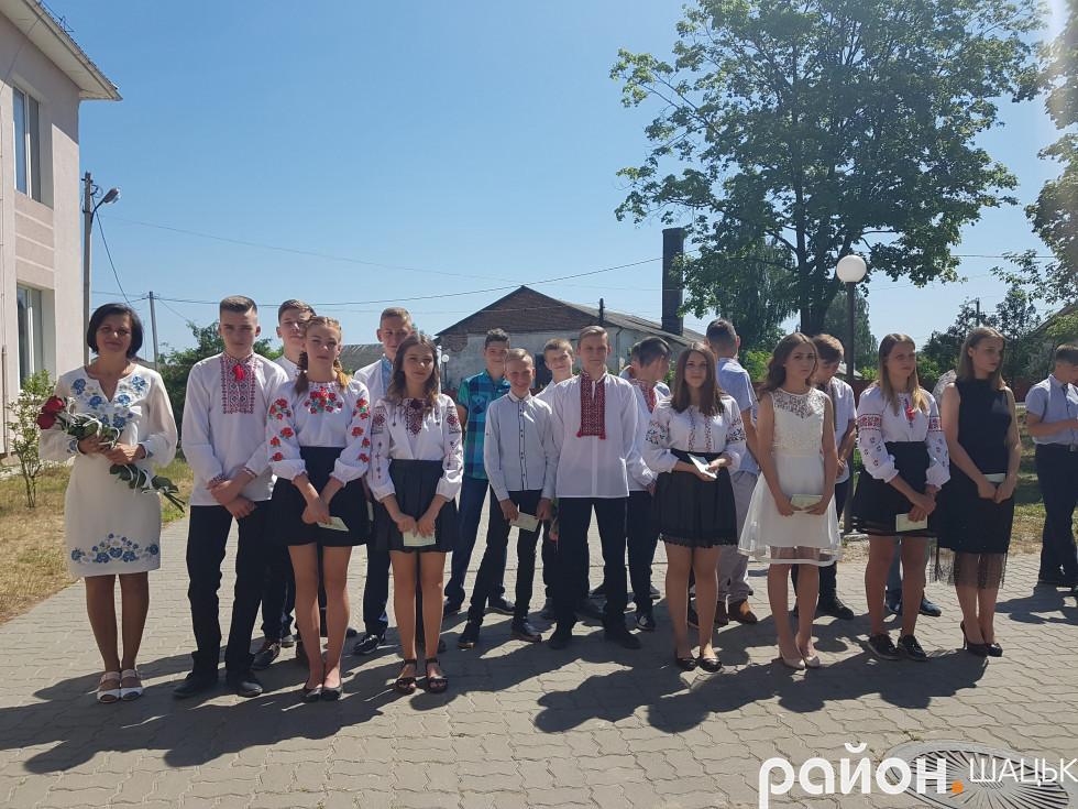 Оксана Данилюк минулого навчального року випустила в життя 9-класників