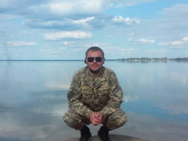 Учасник АТО зі Світязя Валентин Хомич