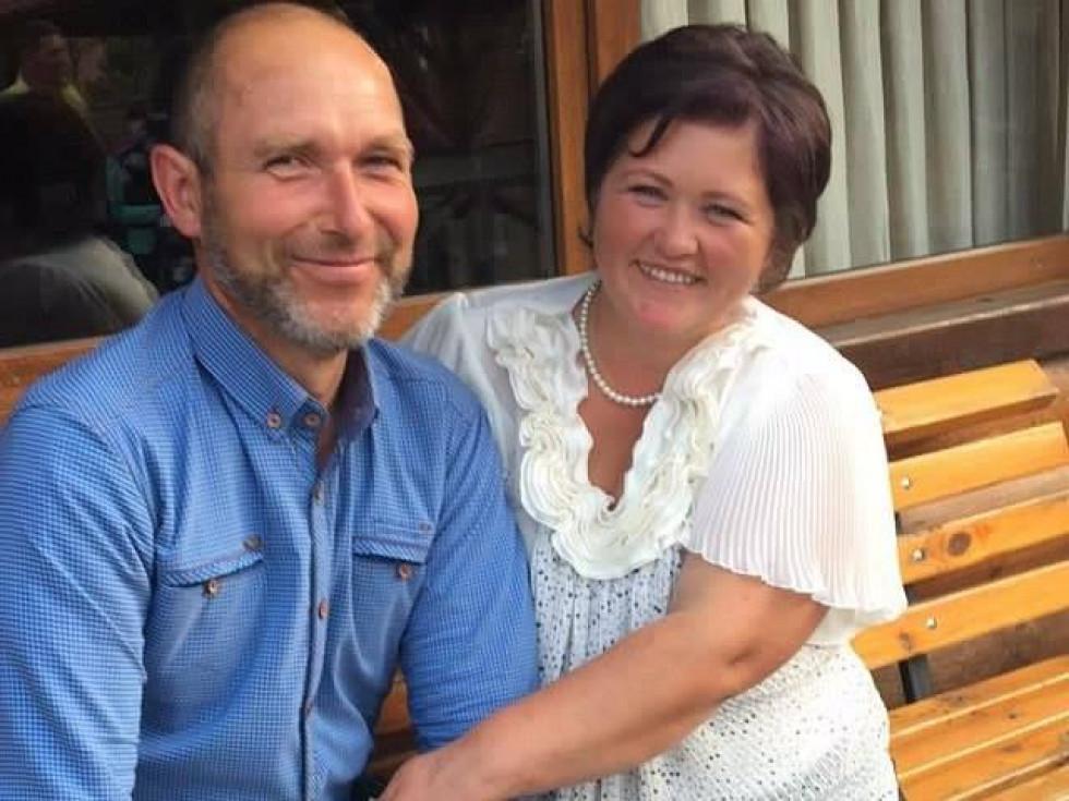 Ірина з чоловіком Віталієм