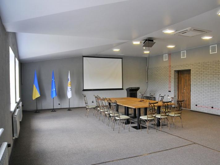 Конференц-залу в маєтку «Nester-house»