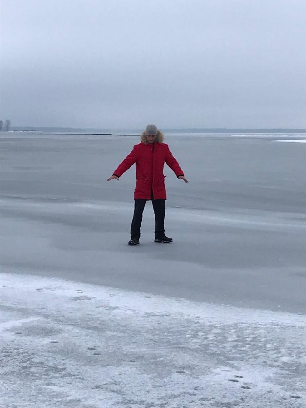 На Світязі - міцний лід