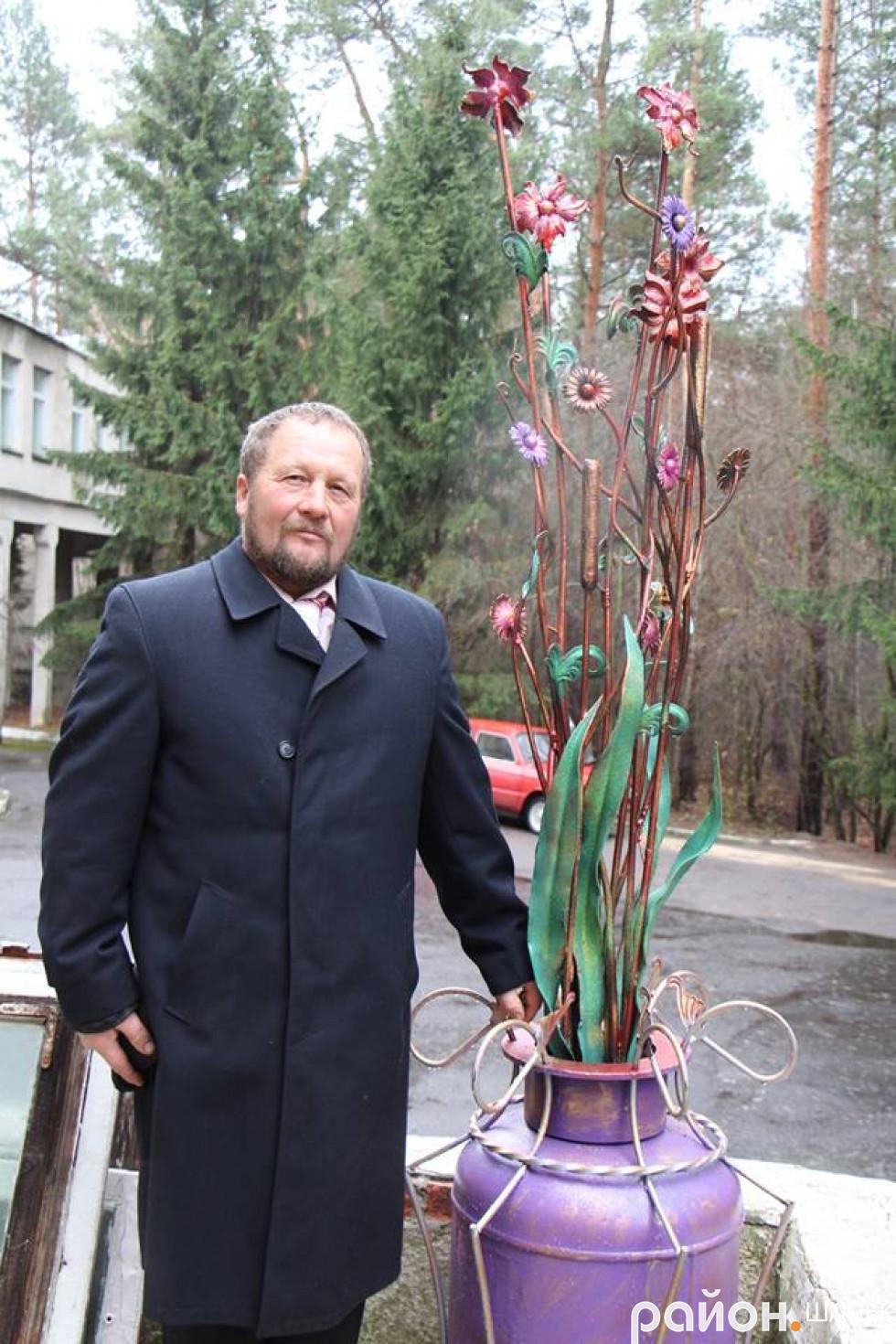 Сергій вміє здивувати талантом і фантазією