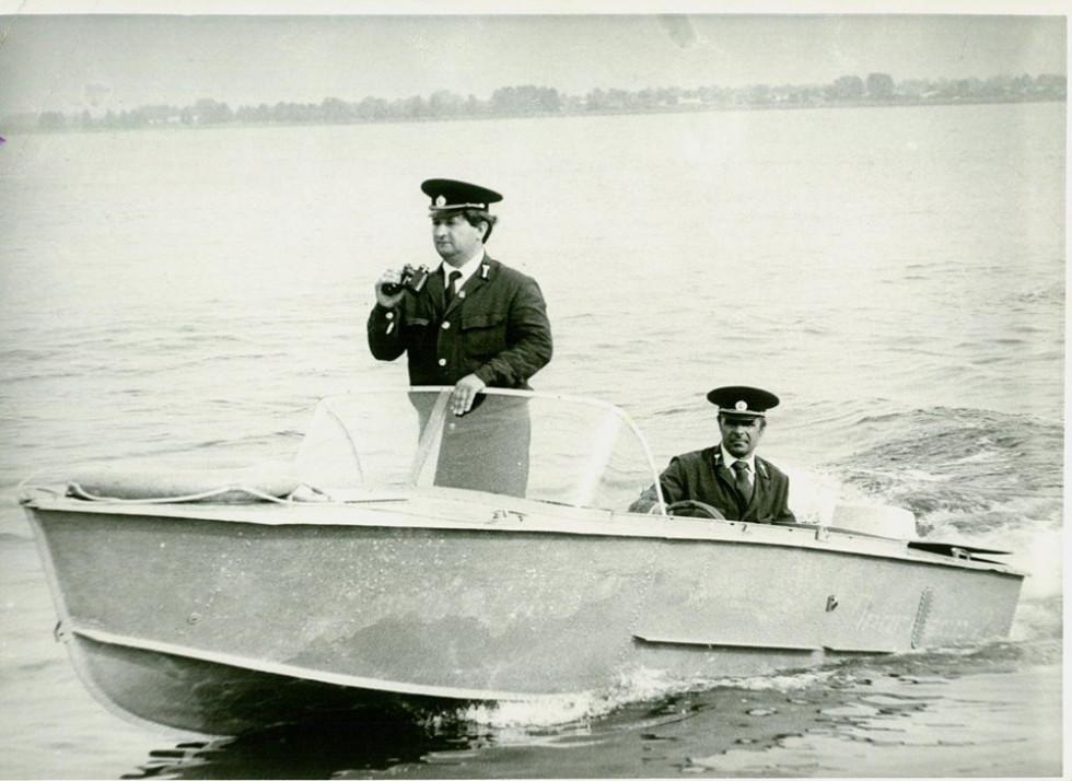 Віктор Турич зі своїм колегою