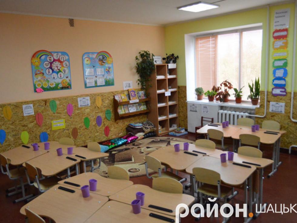 Клас у Мельниківській школі
