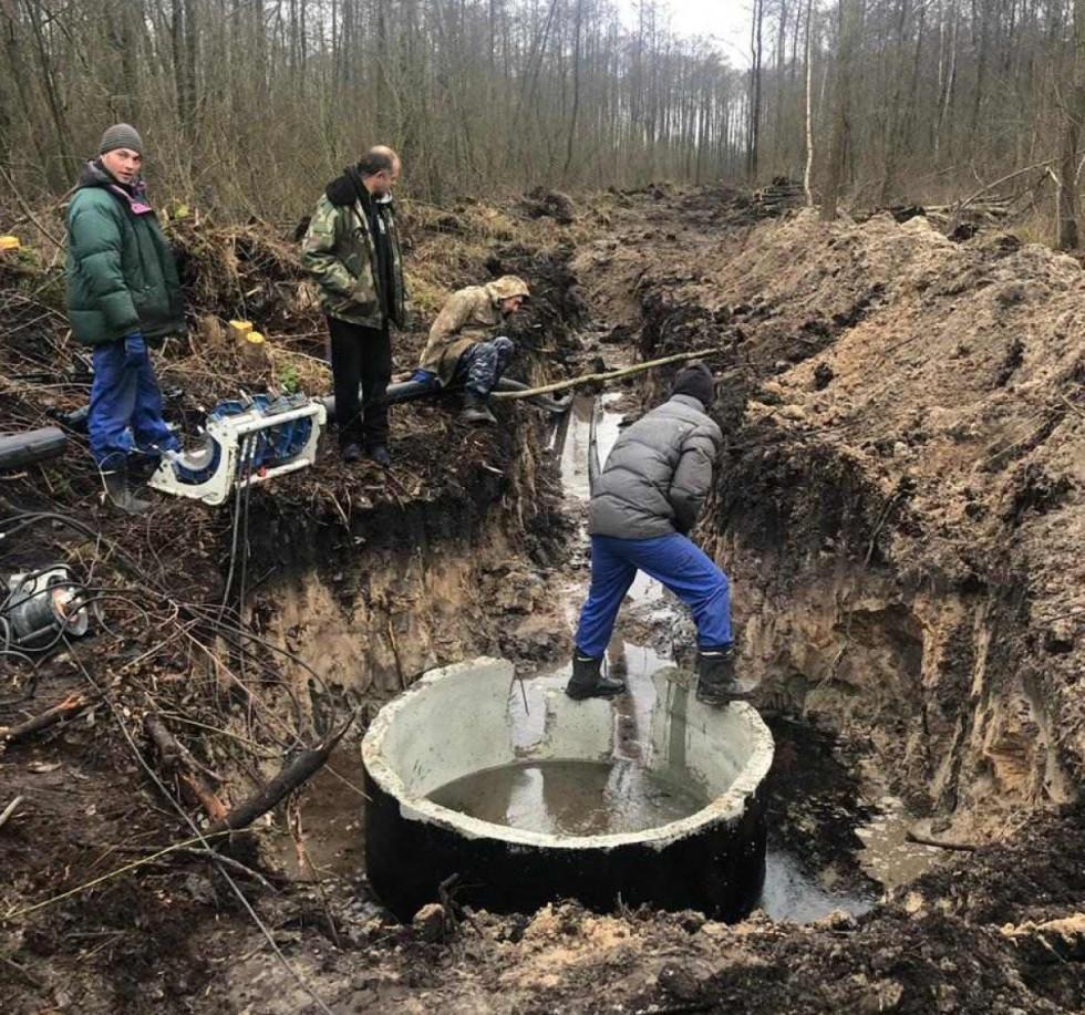 Розпочались роботи із каналізування по Європроекту