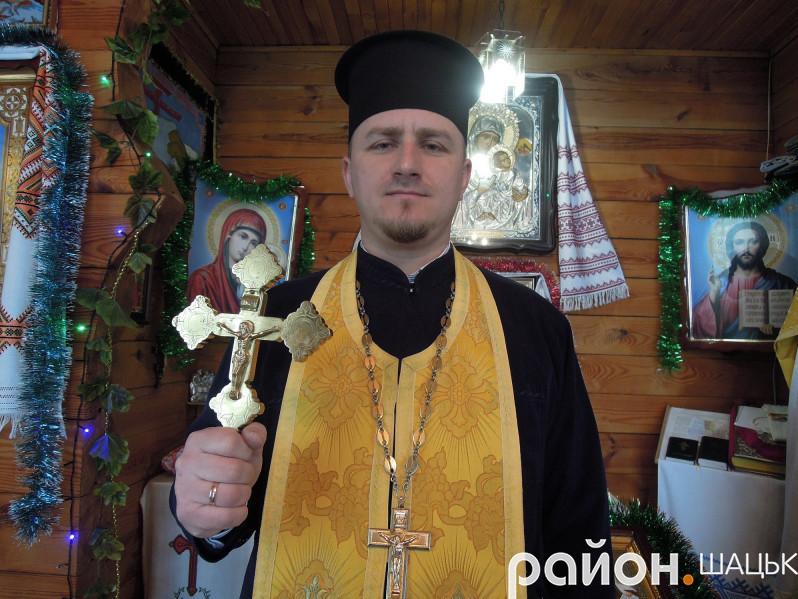 Роман Скірак, настоятель парафіїсвятого Архістратига Михаїла