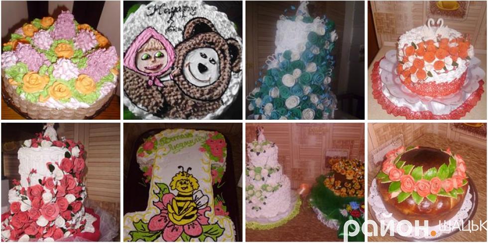 Тортики на будь-яку подію