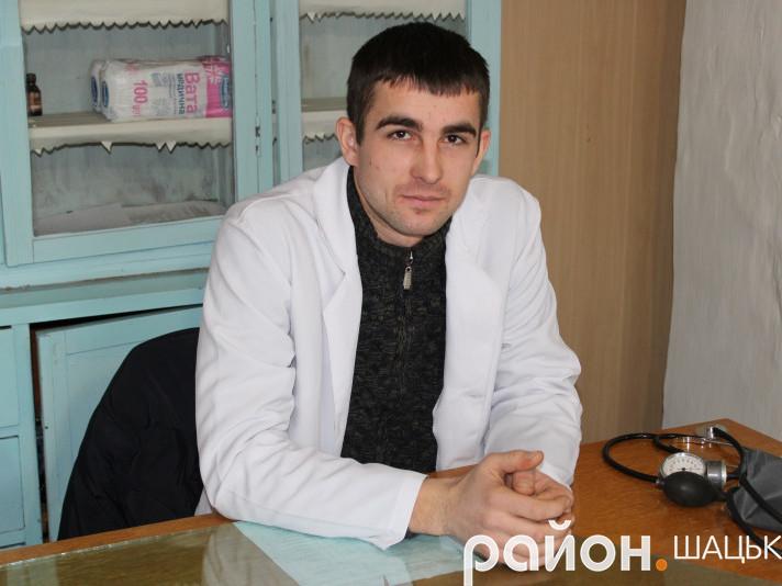 Завідувач ФАПу села Вілиця