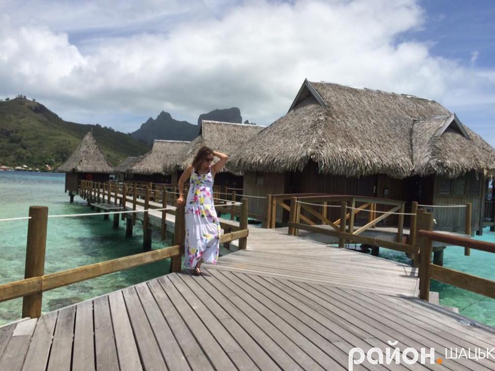 На таємничих та загадкових островах Бора-Бора