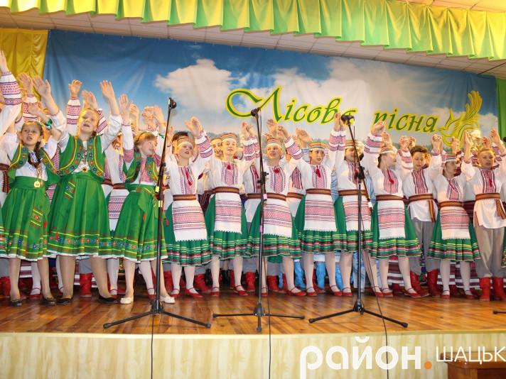 В краї озер, оспіваному Лесею Українкою, народився фестиваль «Лісова пісня»